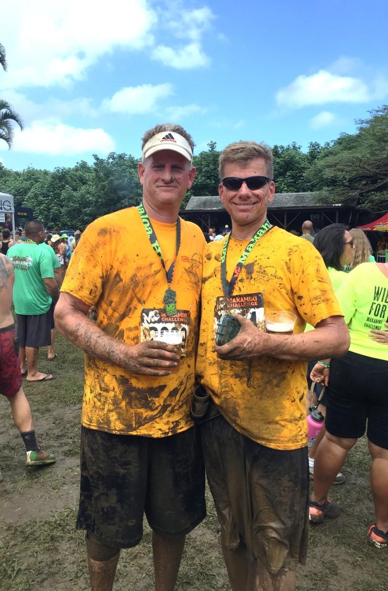 Markus Diersbock & Tom Diersbock Makahiki - Challenge 5K, Oahu, HI 2016